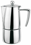 Cafetiere Torino inox brillant induction 6 tasses