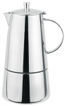 Cafetiere milano inox brosse induction 6 tasses