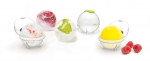 Set de 4 boules a glacons vitamines