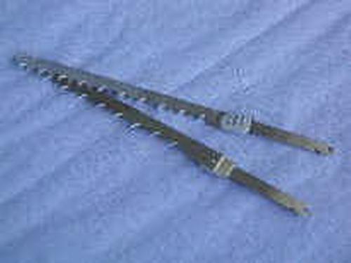 lames de couteaux pour surgel s pour couteau l ctrique kn450 et kn400 kw667107 kw667107. Black Bedroom Furniture Sets. Home Design Ideas