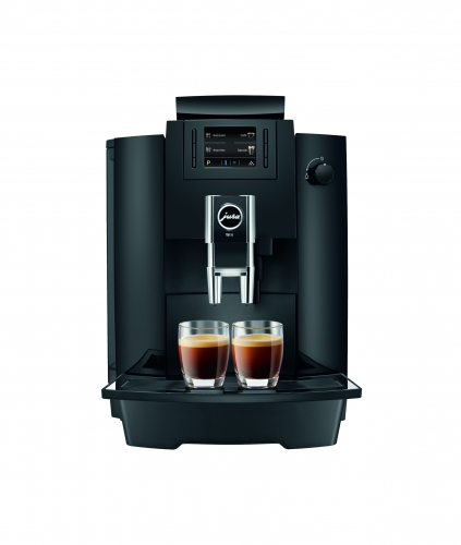 jura robot caf we6 automatique avec broyeur piano black 15114 15114 achetez au meilleur. Black Bedroom Furniture Sets. Home Design Ideas