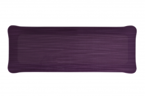 Plateau acrylic 37*13 mayfair prune