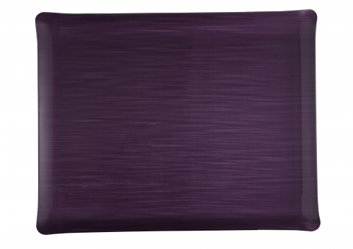 Plateau acrylic 37*28 mayfair prune