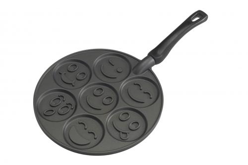 nordic ware po le sp ciale pancakes smiley tous feux sauf induction 01920eu 01920eu. Black Bedroom Furniture Sets. Home Design Ideas