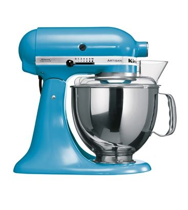 kitchenaid robot kitchenaid artisan bleu lagon