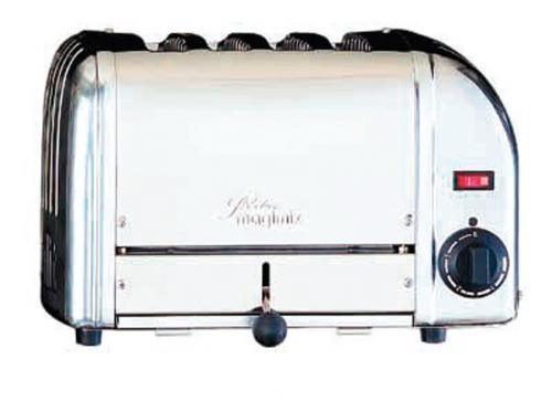 Toaster 4 Tranches inox Dualit par Magimix