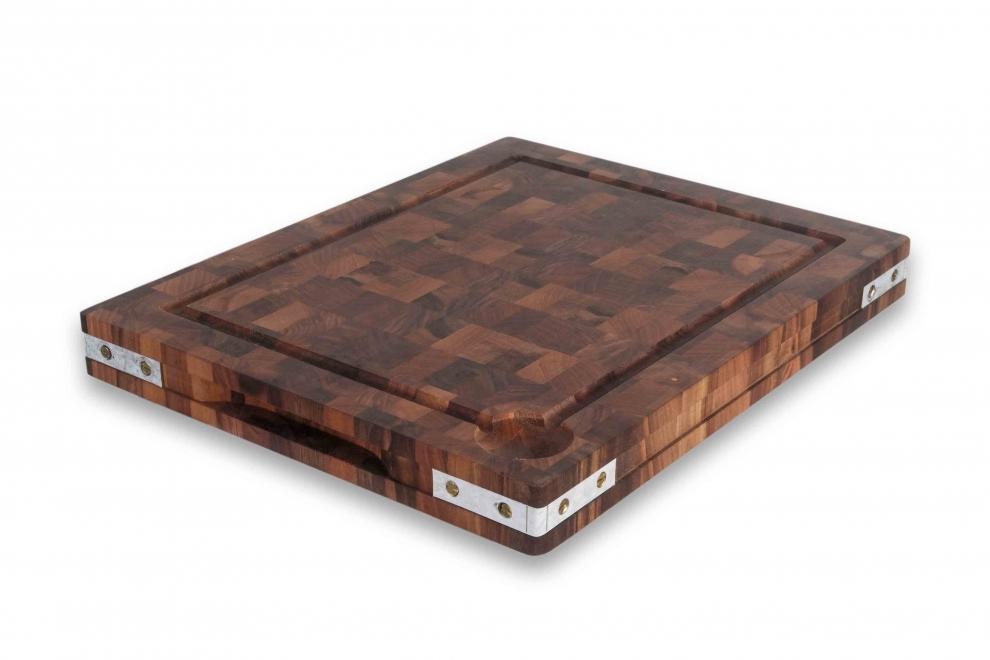 Billot Bois A Poser : Billot de cuisine > Billot ? poser en bois de bout de noyer ?querres