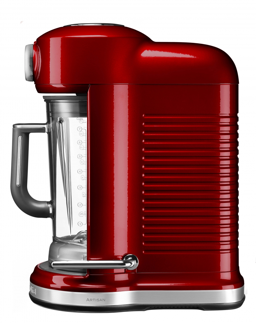 kitchenaid blender mixeur artisan torrent rouge pomme d