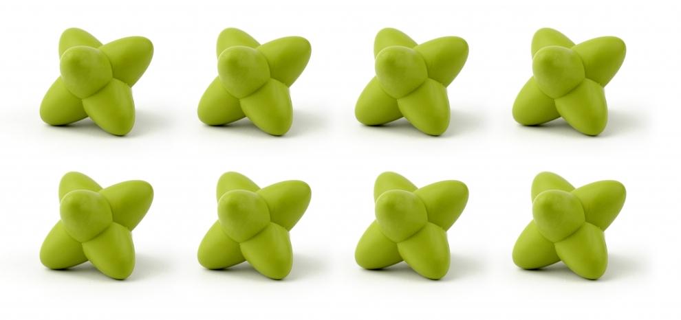 Zak bo te de 8 craggles vert dessous de plats - Dessous de plat joseph joseph ...