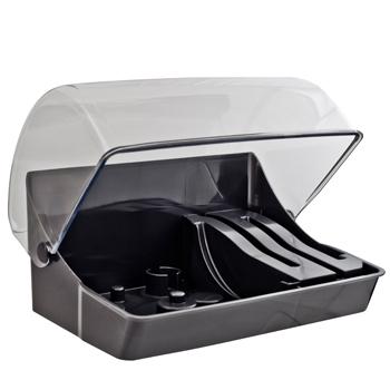 magimix boite de rangement couteaux et disques pour robots 4200 4200xl 5200 5200xl 17374. Black Bedroom Furniture Sets. Home Design Ideas