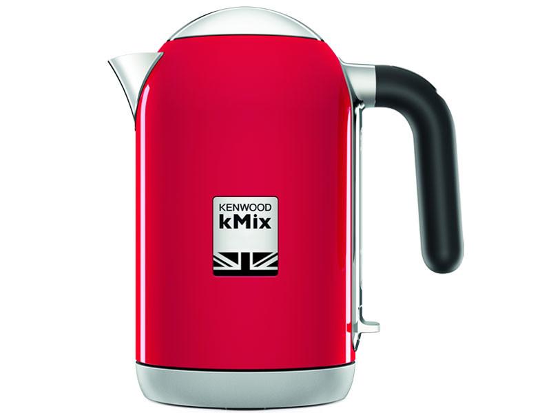 kenwood bouilloire kmix 2200w 1l pichet filtre anticalcaire collection rouge zjx650rd. Black Bedroom Furniture Sets. Home Design Ideas