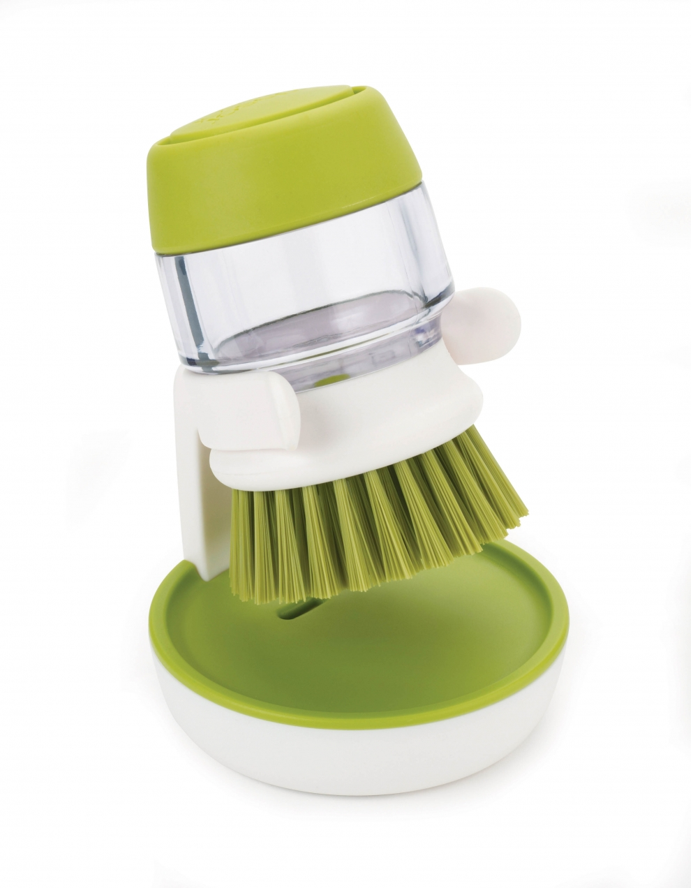 joseph joseph brosse vaisselle ronde avec r servoir et reposoir vert blanc 85004 85004. Black Bedroom Furniture Sets. Home Design Ideas