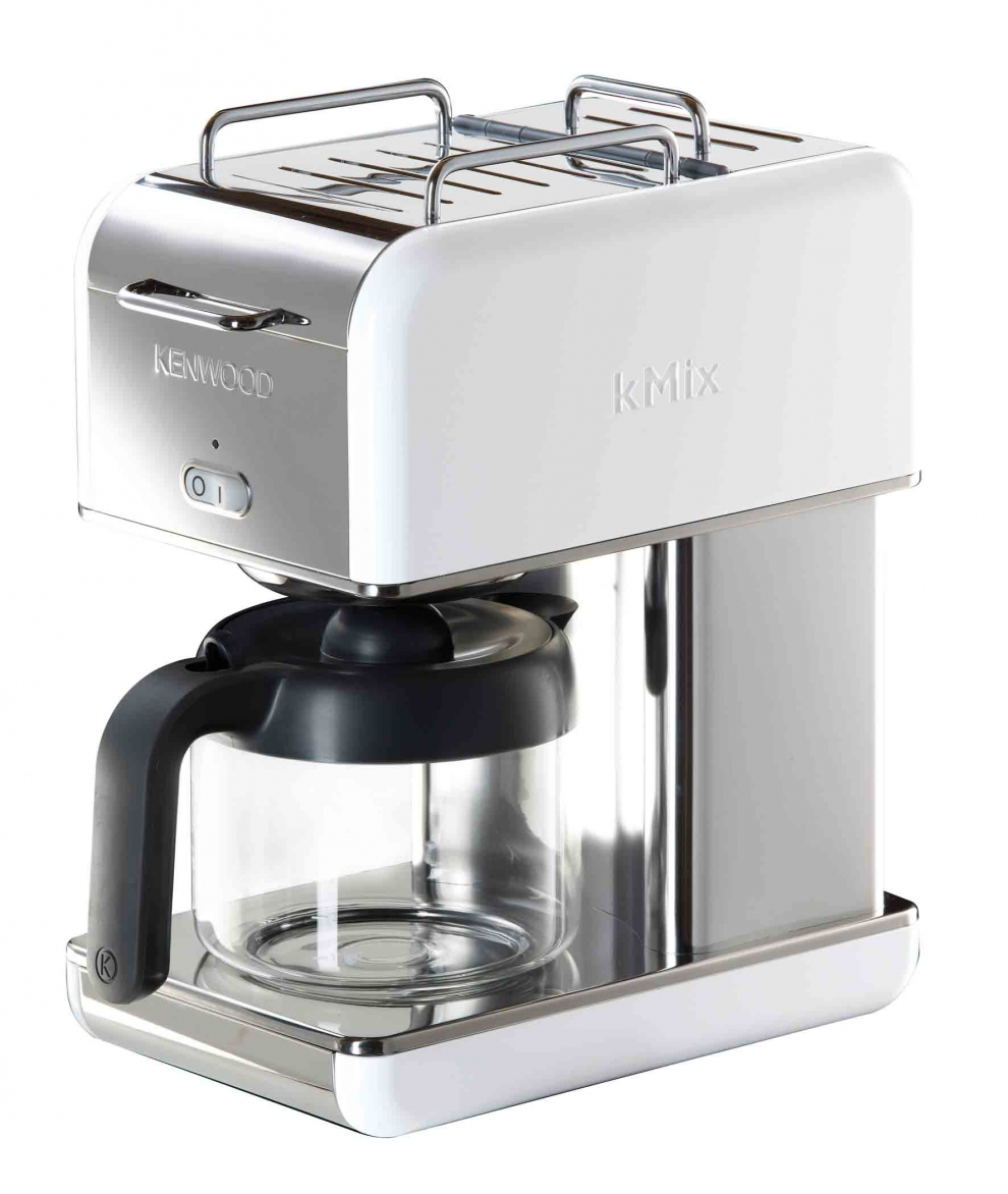 kenwood cafeti re filtre 12 tasses kenwood kmix blanc cm040 cm040 achetez au meilleur prix. Black Bedroom Furniture Sets. Home Design Ideas