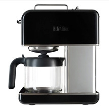 kenwood cafeti re filtre 12 tasses kenwood kmix noir cm044 cm044 achetez au meilleur prix. Black Bedroom Furniture Sets. Home Design Ideas