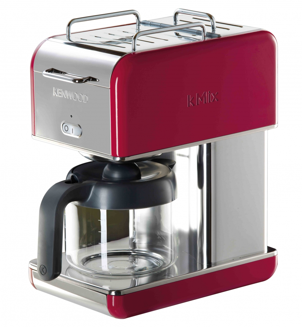 kenwood cafeti re filtre 12 tasses kenwood kmix rouge cm041 cm041 achetez au meilleur prix. Black Bedroom Furniture Sets. Home Design Ideas