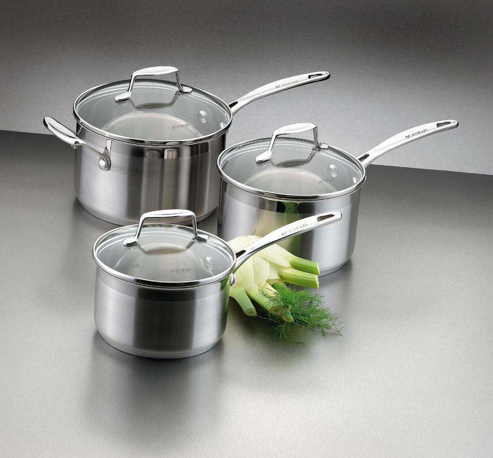 Scanpan casserole avec couvercle 1 2l impact sc71231400 sc71231400 achetez au meilleur for Porte couvercle casserole