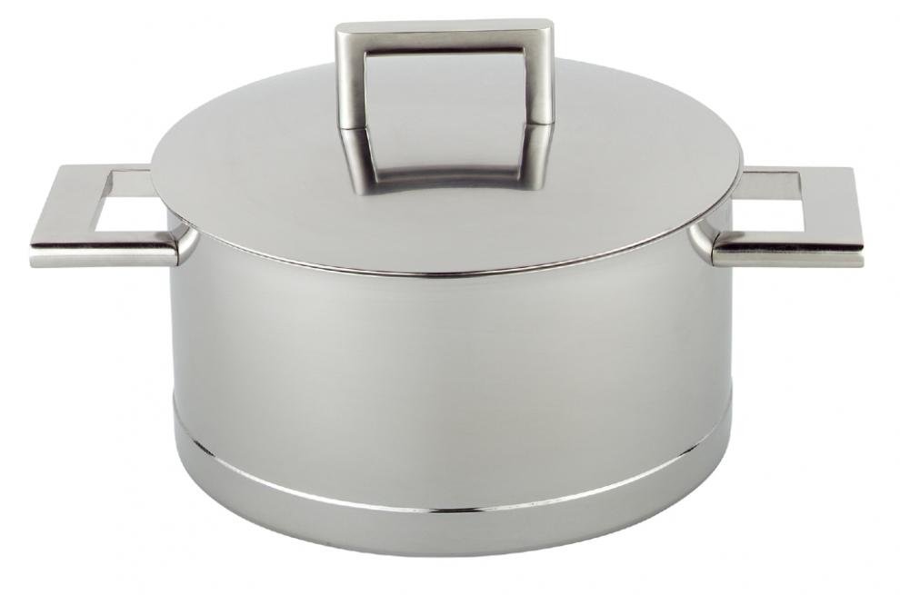 Demeyere casserole faitout 24 cm avec couvercle john pawson 4 71324 4 71324 achetez au for Porte couvercle casserole