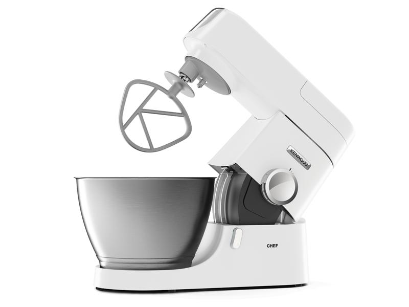 Kenwood robot p tissier chef 1000w kit p tisserie livre de recettes blanc kvc3100w - Livre recette robot patissier ...