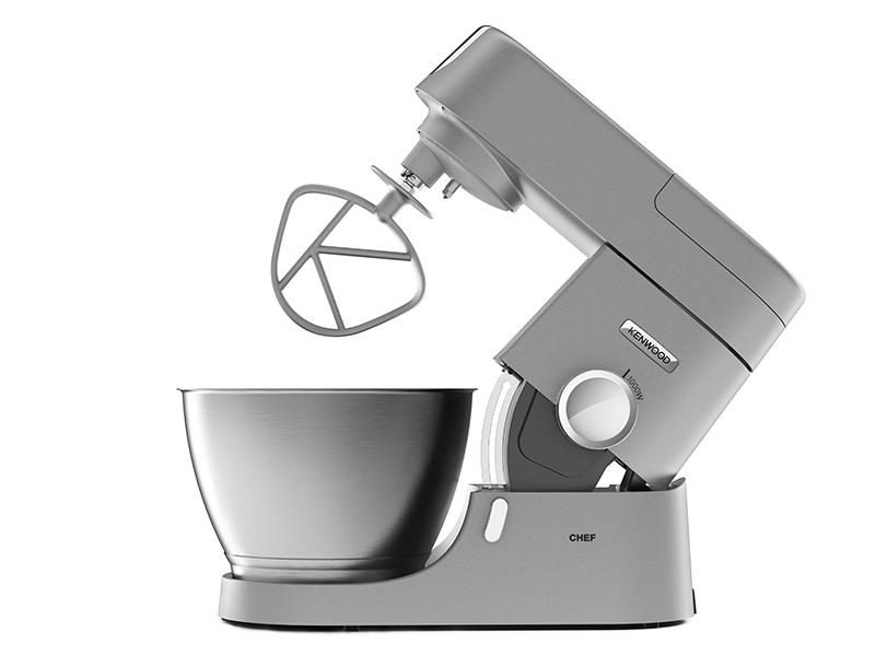 Kenwood robot p tissier chef 1000w kit p tisserie - Livre recette robot patissier ...