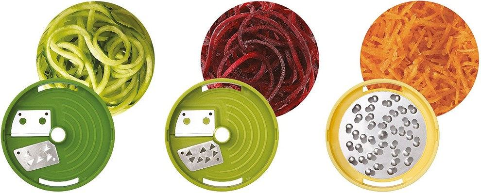JOSEPH JOSEPH - Coupe légumes spirale   râpe à fromage 20105 - 20105 ... e53f473fa575