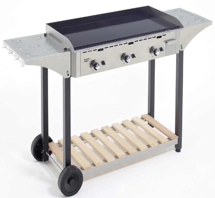 roller grill desserte inox bois roller grill pour planchas roller grill 90 cm monter r. Black Bedroom Furniture Sets. Home Design Ideas