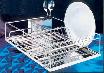 francis batt egouttoir a vaisselle 12 couverts inox 48 x. Black Bedroom Furniture Sets. Home Design Ideas