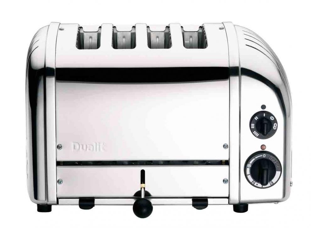 DUALIT - Grille Pain Dualit Classic 2 200W 4 fentes - Inox 47030 ...