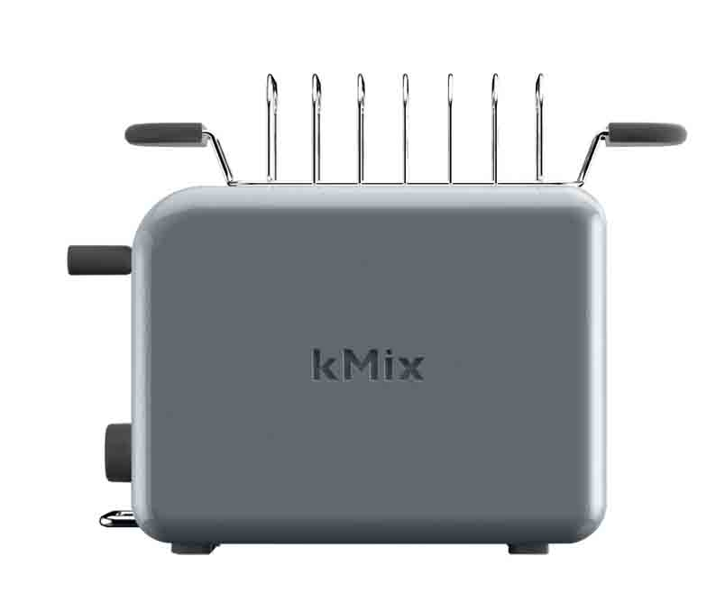 kenwood grille pain kmix 2 fentes 2 tranches gris zinc. Black Bedroom Furniture Sets. Home Design Ideas