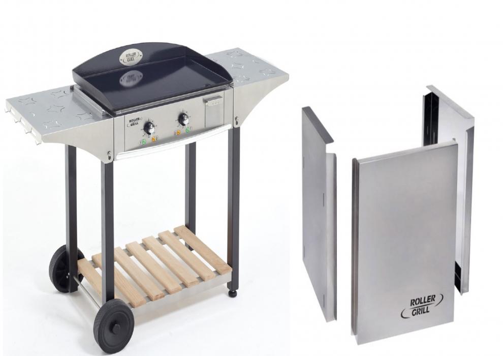 roller grill kit cuisine ext rieure classic pour plancha 5mm 60 cm lectrique roller grill r. Black Bedroom Furniture Sets. Home Design Ideas