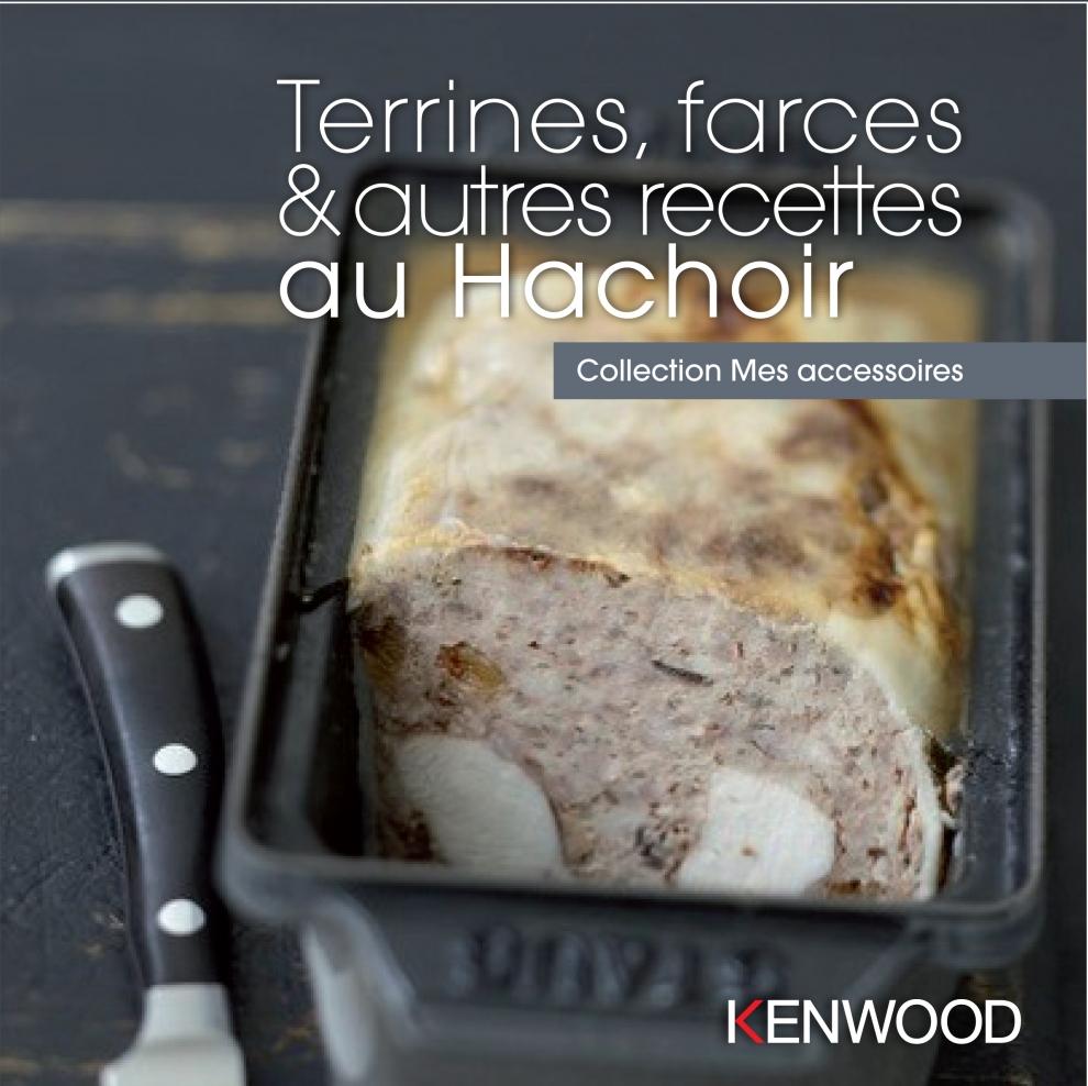 Kenwood livre terrines farces autres recettes au for Repose livre cuisine