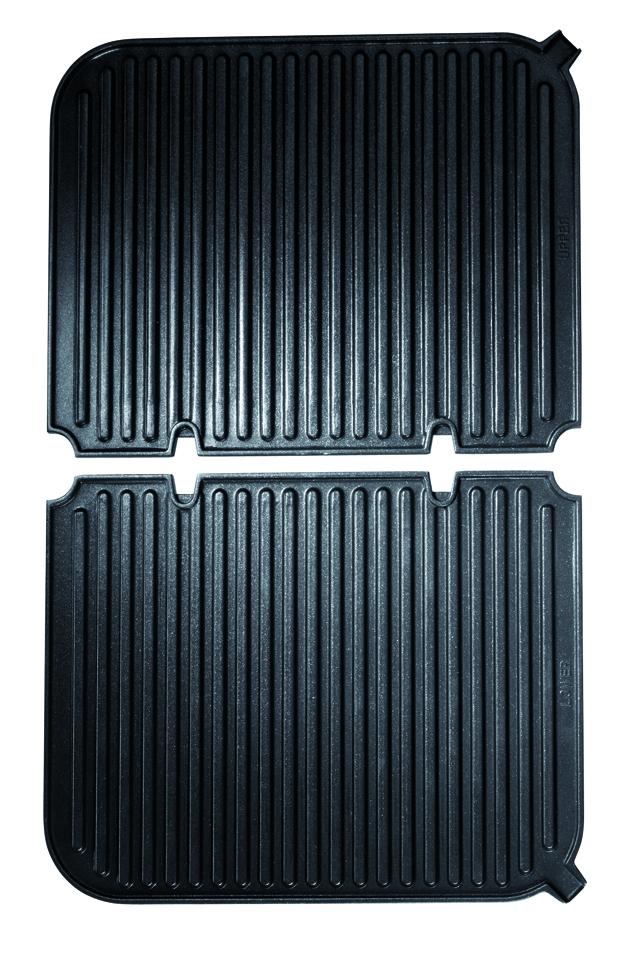 Cuisinart lot de 2 plaques gr4e grillades rainur es pour grill 293017 ancien mod le - Four de dietrich ancien modele ...