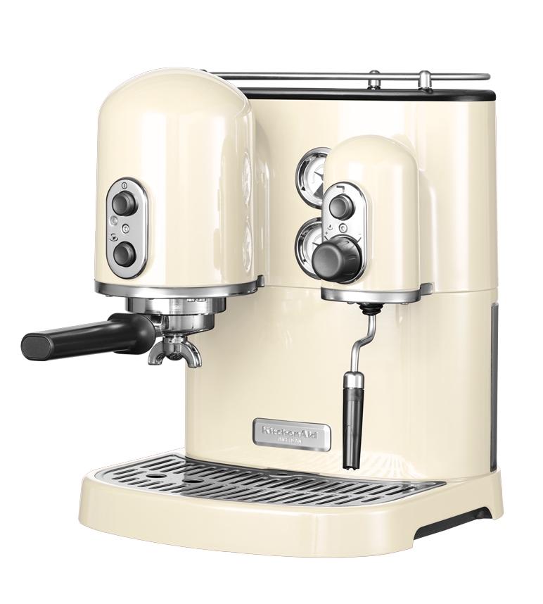 Kitchenaid machine caf espresso kitchenaid artisan cr me 5kes2102eac 5 - Meilleur machine a cafe ...