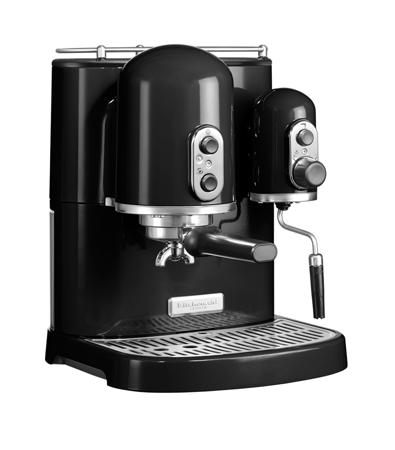 kitchenaid machine caf espresso kitchenaid artisan noir onyx 5kes2102eob 5kes2102eob. Black Bedroom Furniture Sets. Home Design Ideas