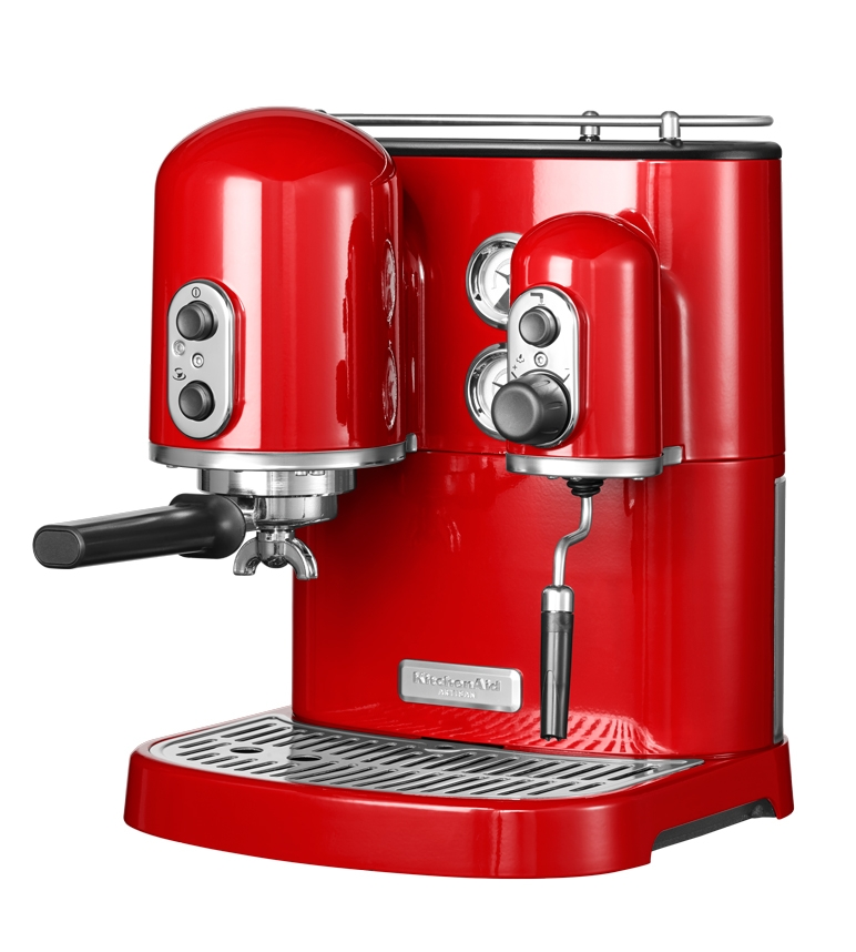 kitchenaid machine caf espresso kitchenaid artisan rouge empire 5kes2102eer 5kes2102eer. Black Bedroom Furniture Sets. Home Design Ideas