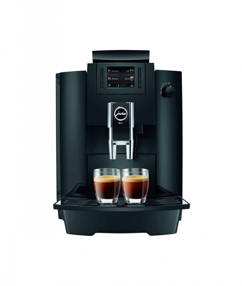 jura machine caf we6 automatique avec broyeur piano black 15114 15114 achetez au. Black Bedroom Furniture Sets. Home Design Ideas