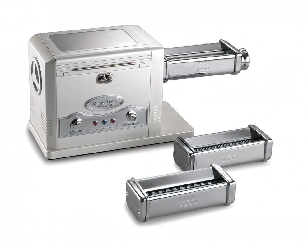 MARCATO - Machine à pâtes électrique avec pétrin Pasta Mixer et 3 ...