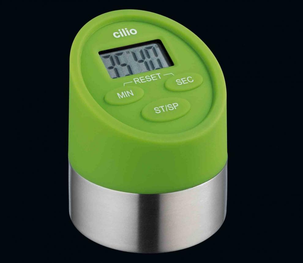 Cilio minuteur vert 2 fonctions chronom tre et - Minuteur 2 minutes ...