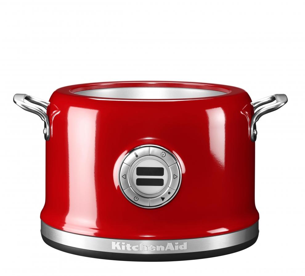 kitchenaid multicuiseur rouge empire 5kmc4241eer 5kmc4241eer achetez au meilleur prix chez. Black Bedroom Furniture Sets. Home Design Ideas