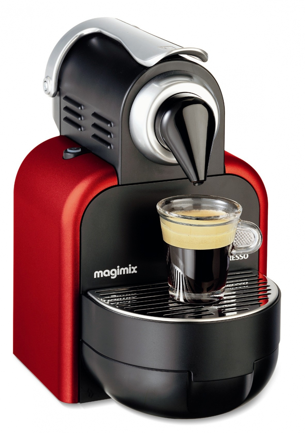 magimix nespresso m 100 rouge glamour automatique magimix 11280 11280 achetez au meilleur. Black Bedroom Furniture Sets. Home Design Ideas
