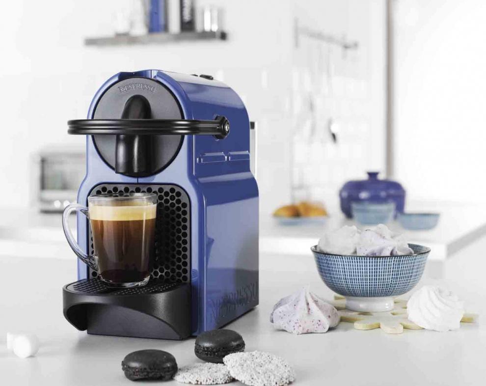 MAGIMIX - Nespresso M130 Inissia bleu Blueberry Magimix 11354 ...