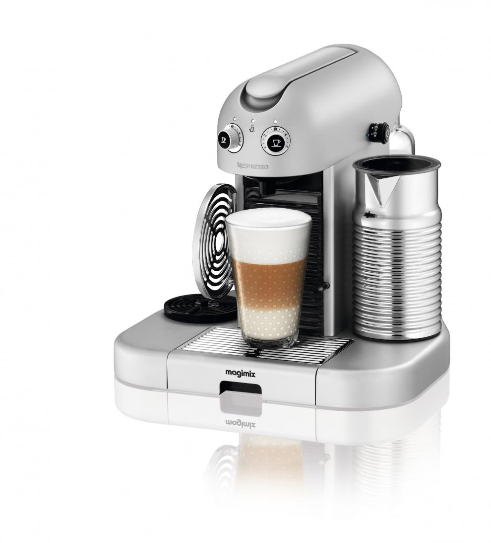 Magimix nespresso m400 gran maestria argent automatique magimix 11335 11335 achetez au - Machine a cafe magimix ...