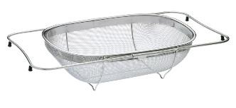 kuchenprofi passoire extensible pour vier de 26 34 cm 08 0825 28 00 08 0825 28 00. Black Bedroom Furniture Sets. Home Design Ideas