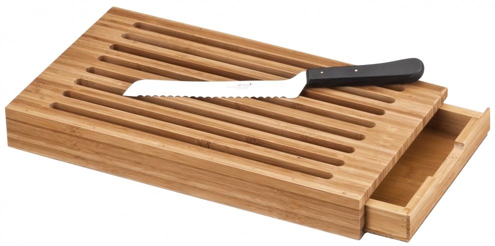 deglon planche pain d glon en bambou avec r cup rateur de miettes 8170741 v achetez au. Black Bedroom Furniture Sets. Home Design Ideas