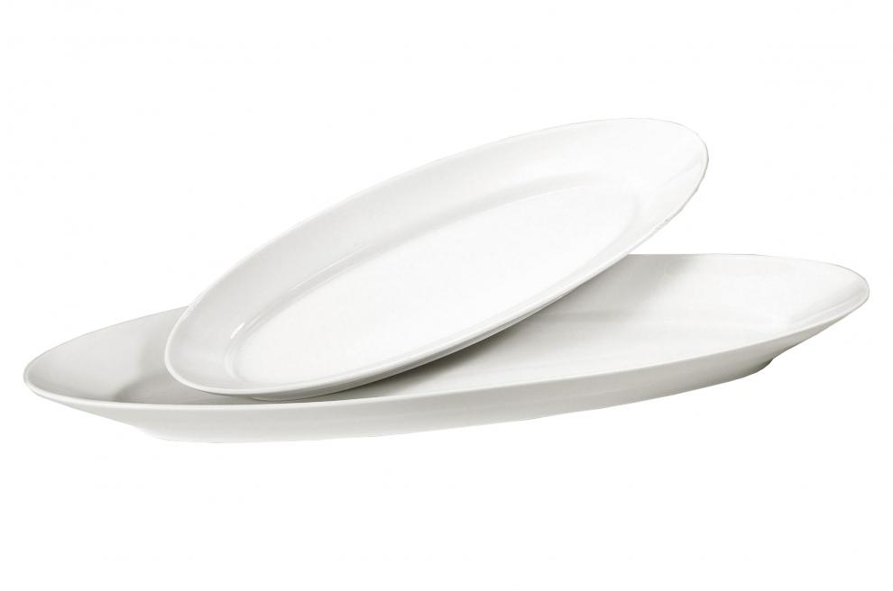 Pillivuyt plat poisson en porcelaine blanche 58 5 cm x for Prix poisson rouge 20 cm