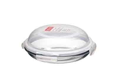 lock lock plat assiette ronde en verre 21 cm llg884 llg884 achetez au meilleur prix. Black Bedroom Furniture Sets. Home Design Ideas
