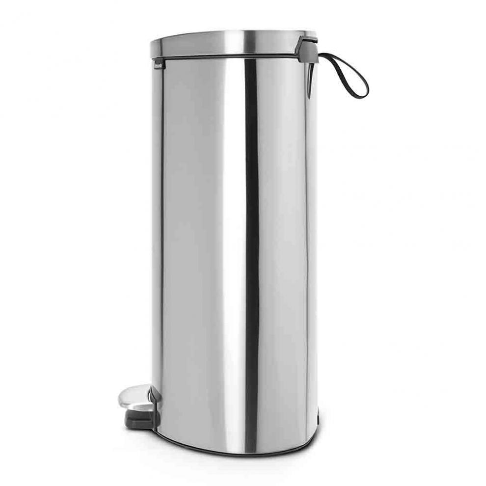 brabantia poubelle p dale 39 silent 39 gain de place flatback 40 litres 48 20 21 48 20 21. Black Bedroom Furniture Sets. Home Design Ideas
