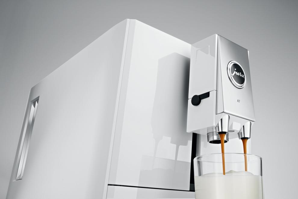 JURA - Robot café Jura A7 Piano White 15125 - 15125 - Achetez au ...