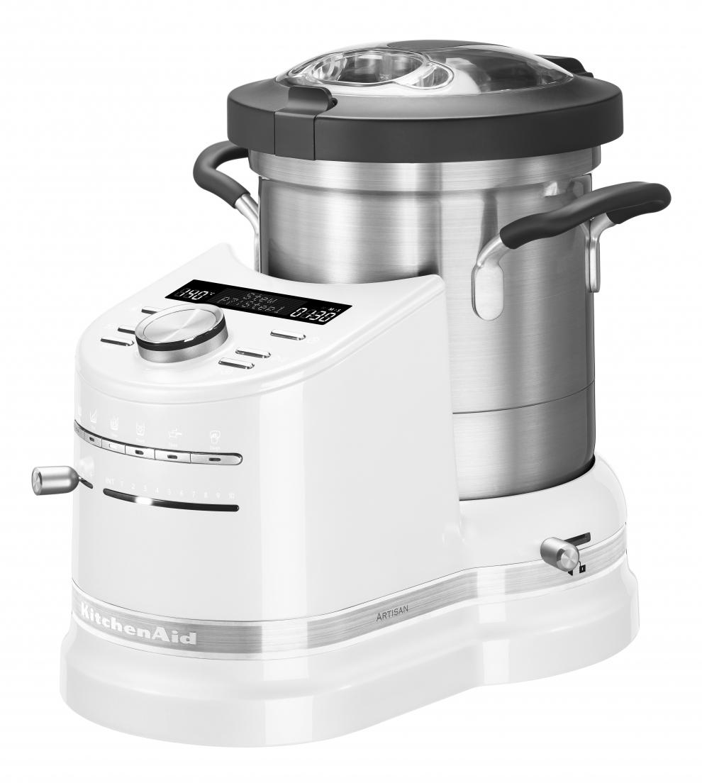 kitchenaid robot cuiseur kitchenaid artisan cook processor blanc givr 5kcf0103e 5kcf0103efp. Black Bedroom Furniture Sets. Home Design Ideas