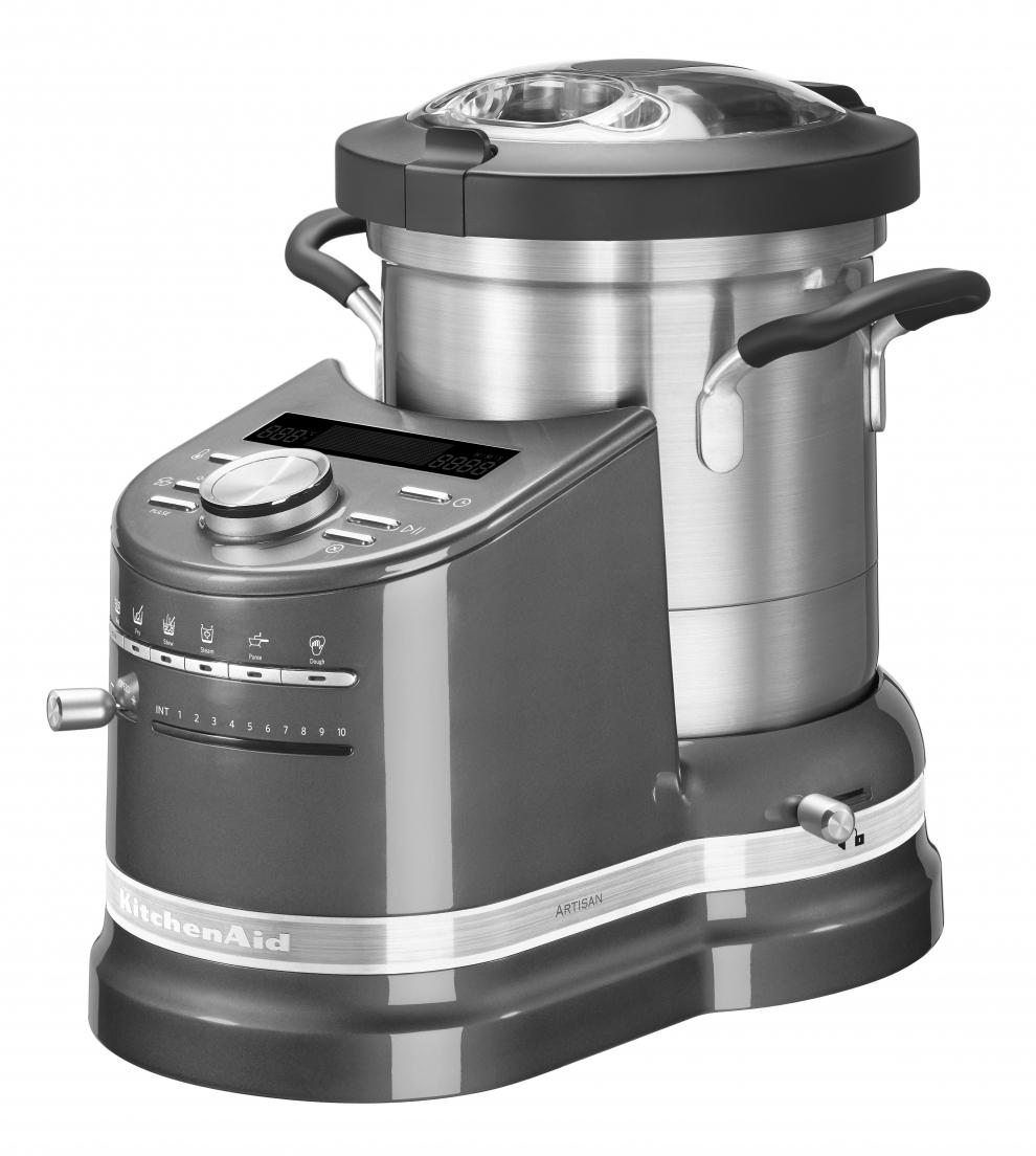 kitchenaid robot cuiseur kitchenaid artisan cook processor gris tain 5kcf0103ems. Black Bedroom Furniture Sets. Home Design Ideas