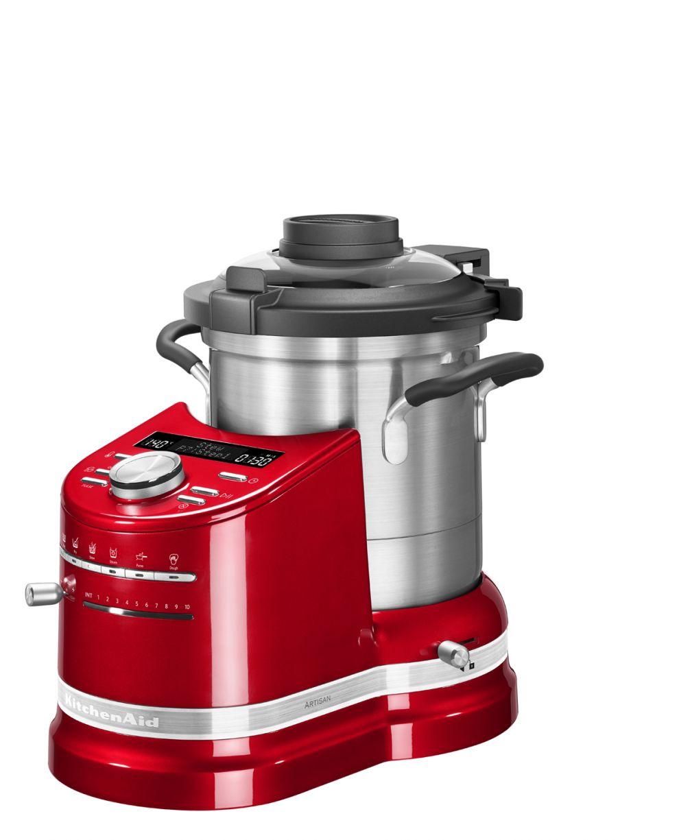 robot cuiseur kitchenaid artisan cook processor rouge. Black Bedroom Furniture Sets. Home Design Ideas